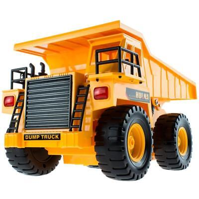 RC Radio Control Car Toy DUMP Truck Construction Engineer Vehicle Christmas gift