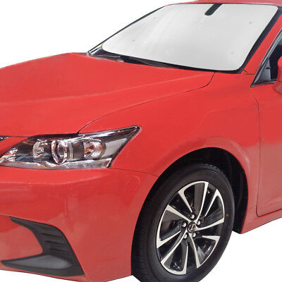 Silver Intro-Tech LX-35-S Custom Fit Windshield Snow Shade for Select Lexus CT200h Models