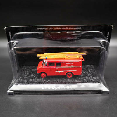1/72 Atlas LF 8 Opel 1.9 t Fire Engine Diecast Models Limited Edition Collection