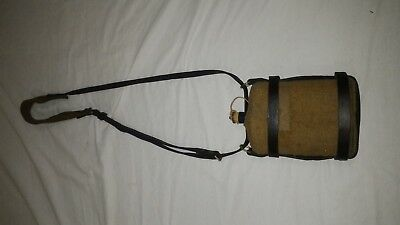 WW1 WWI WW2 WWII Canada Canadian British Canteen & Carrier Leather Pattern 1916