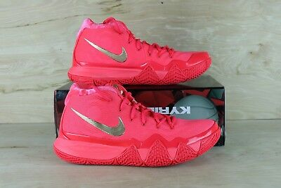 5b6bb7f8adb Nike Kyrie 4 Red Carpet Uncle Drew Red Orbit Metallic Gold 943806-602 Size  10.5