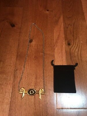 Yugioh Egyptian Eye Of Horus Necklace & Pouch New Rare Limited Rare Cosplay Yugi