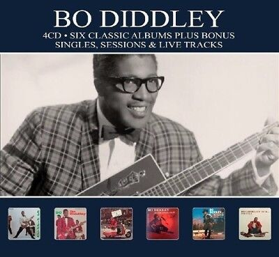 Bo Diddley - 6 Classic Albums Plus [New CD] Germany - Import