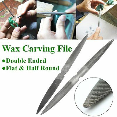 Carbon Steel Wax Carving File Working Tools Jewelry Design Model Making Candles