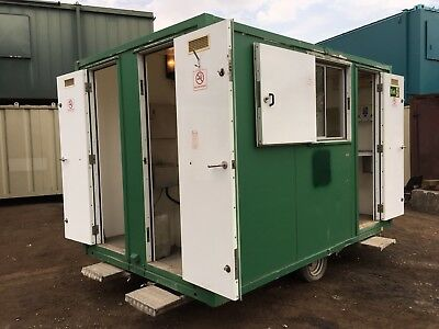 Towable Welfare Unit Site Cabin Office Canteen Drying Room Toilet Generator