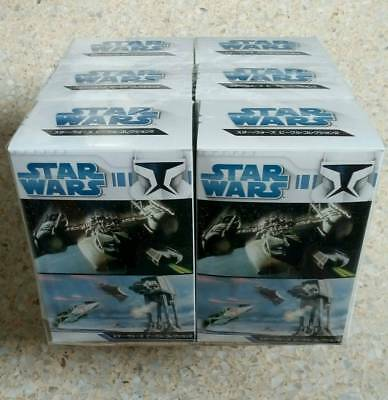 Star Wars - Vehicle Collection 2, 6 pieces - 1/144 Scale, by F-Toys!  New! Neu!