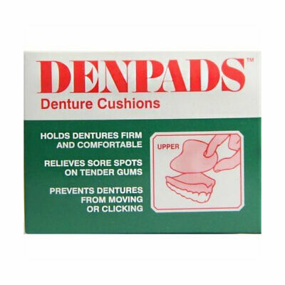 NEW Denpads Denture Cushions Upper
