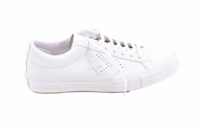 2f8015153a7 CONVERSE UNISEX CTAS Leather 160280 Sneakers Navy Size UK 9 RRP £94 ...