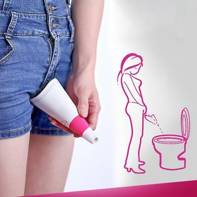 Outdoor Travel Portable Shrinkable Ladies Urinals One-time Emergency Free Urinal
