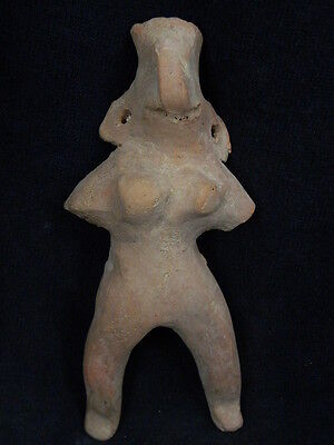 Ancient Large Size Teracota Mother Goddess Indus Valley 1000 BC #TR524