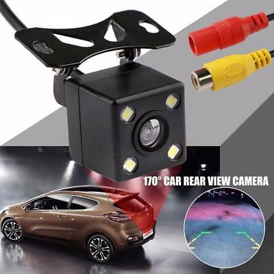 170 Degree Car Rear View Camera Parking Assistance CCD LED Backup Light # H-Q