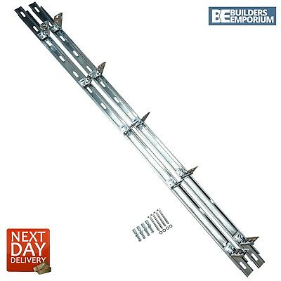 Wall Starter Kit 2.4M Stainless Steel Includes Ties & Fixings Next Day