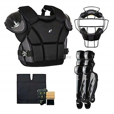 Champro Sports Varsity Umpire KIT-BLACK Black