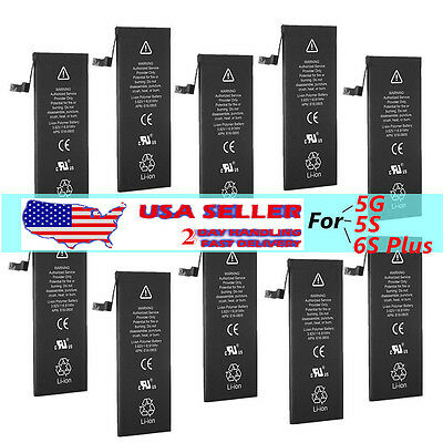 Wholesale OEM Li-ion Internal Battery Replacement for iPhone 5 5S 6 6S Plus BR