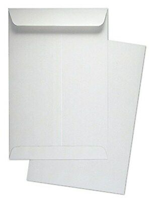 "6"" x 9"" Premium White Wove Catalog / Open End Envelopes, 500 Count- Item# SY690"