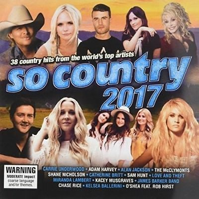 So Country 2017 (Various Artists) 2CDs [New & Sealed]