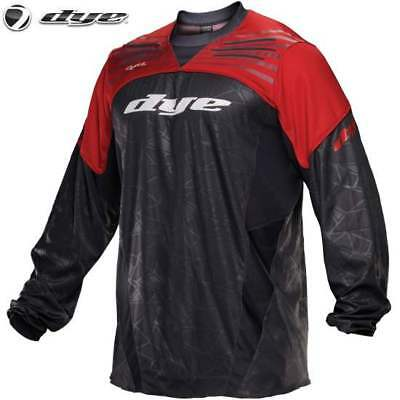 DYE C14 UL Paintball Jersey (red / rot, XS/S)