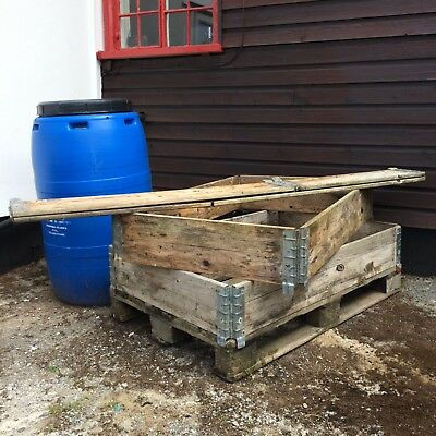 Pallet Collars lot x approx 30 suitable for raised beds
