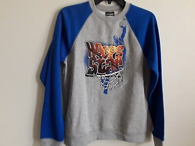 Boys sweatshirt size XL(14/16) brand Joe Boxer new color blue and gray
