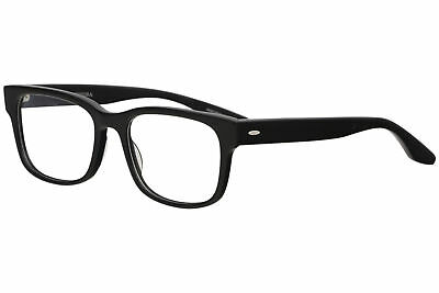 52ef6155477 Barton Perreira Men s Eyeglasses Huncke Black Full Rim Optical Frame 52mm