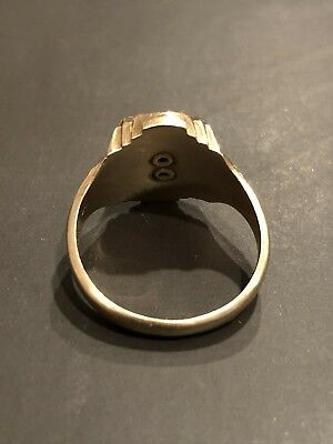 VINTAGE 1957 JOSTEN 10K Yellow Gold Class Ring Size 5