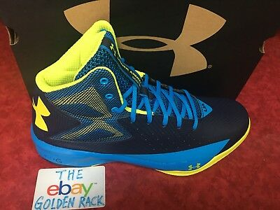 newest collection bae37 8c0e3 UNDER ARMOUR MEN'S UA Rocket Midnight Navy/Electric Blue/Yellow Ray  1264224-410
