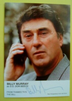 the bill billy murray autograph hand signed cast card photo d s don