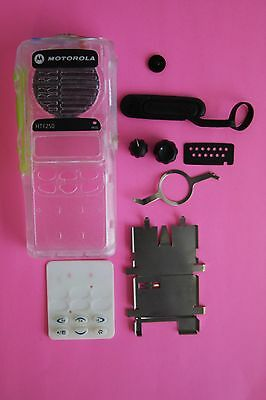 CLEAR Motorola HT1250 Limited Keypad 16 Channel Refurb Housing Kit