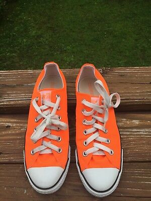 Converse All Star Chuck Taylor Neon Orange Unisex Mens 7 Womens 9 NEW! fc0063699ed2