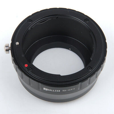 Camera Adapter For Nikon F Mount Lens to Micro Four Thirds M43 GM1 GX7 E-PL6 EP5