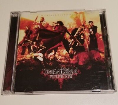 Final Fantasy VII Dirge Of Cerberus Original Soundtrack CRCP 40139/40 w/ OBI