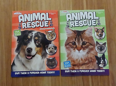2 NEW Animal Rescue Coloring Books 96 Pgs Ea We Offer Combined Shipping