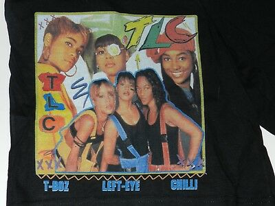 RARE Vintage TLC  SHORTS !  Champion Made Hip -Hop Rap   ( men's S ?)
