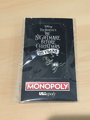 SDCC Comic Con 2018 Exclusive Disney Nightmare Before Christmas Oogie Boogie Pin