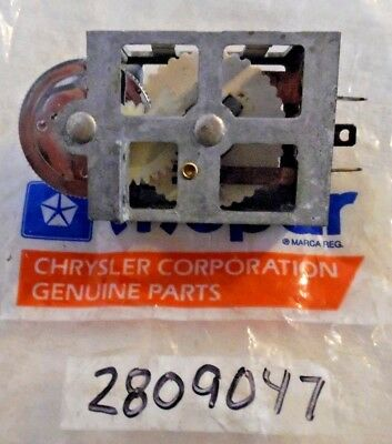 1967 1968 1969 1970 1971 Plymouth Dodge Chrysler NOS PANEL DIMMER SWITCH Charger