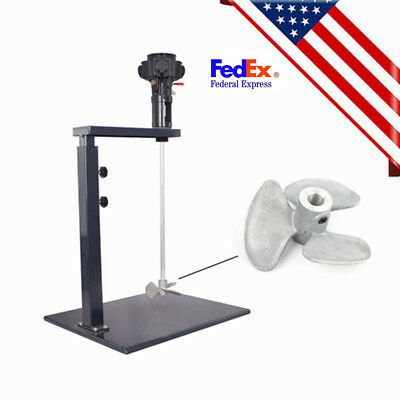 5 Gallon Pneumatic Type Paint Mixer Machine Ink Coating Mixing Device 20L  USPS