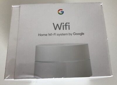 GOOGLE WIFI AC1200 Dual-Band Wi-Fi Router with 2 Gigabit Ethernet Ports -  White