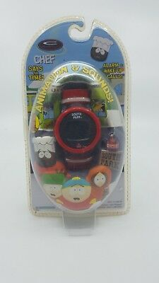 RARE South Park Wrist Watch 1998 Trendmasters C-Watch Animation Chef Comedy