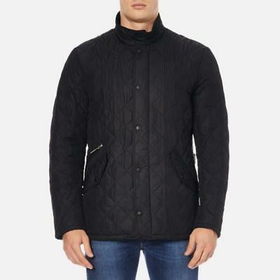 Barbour for Jcrew Chelsea Sportsquilt Jacket Size S BLACK style 03764