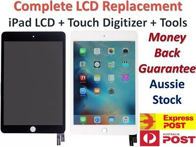 iPad 2 3 4 Air 1 2 Mini 1 2 3 4 COMPLETE LCD +Touch Screen Digitizer Replacement