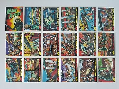 Mars Attacks Archives 1994 Complete 100 Card Set Topps