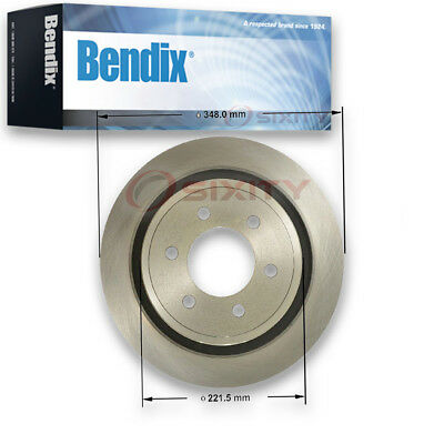 Bendix PRT6177 Brake Rotor - Left Right Disc PGD6177 MX6177 kj