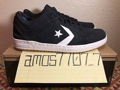 9b46596de89f4c CONS Converse Weapon Skate OX Low Black White Gum LUNAR 147504C Men Size SZ  8.5