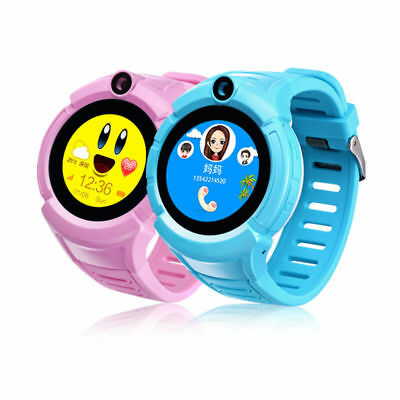 Children Kids LBS Tracker Smart Watch With Camera Call Anti-lost Alarm Gifts