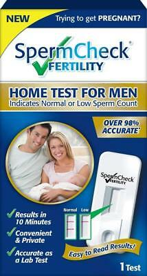 SpermCheck Fertility Home Sperm Test Kit | Indicates Normal or Low Count |...