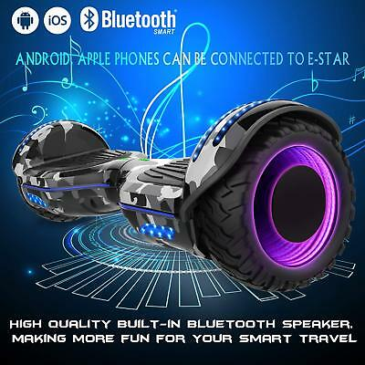 Hoverboard 6,5'' Smart Balance Overboard Pedana Scooter Bluetooth Colorful Es09