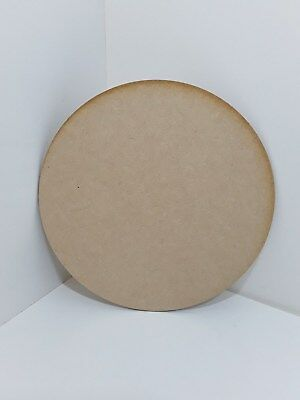 Laser Cut  3 or 4 mm Thick MDF Wooden Circles Discs Various Sizes Choose