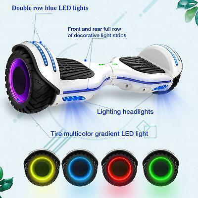 Es09 Hoverboard 6,5'' Smart Balance Overboard Pedana Scooter Bluetooth Colorful