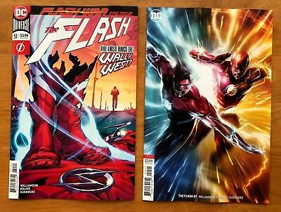 Flash 51 A + B Francesco Mattina Variant Set 1st print DC Comics 2018 NM+