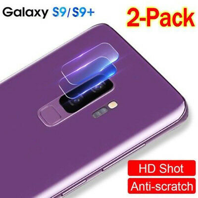 2x For Samsung Galaxy S9/S9Plus Back Camera Lens Tempered Glass Film-Protector.